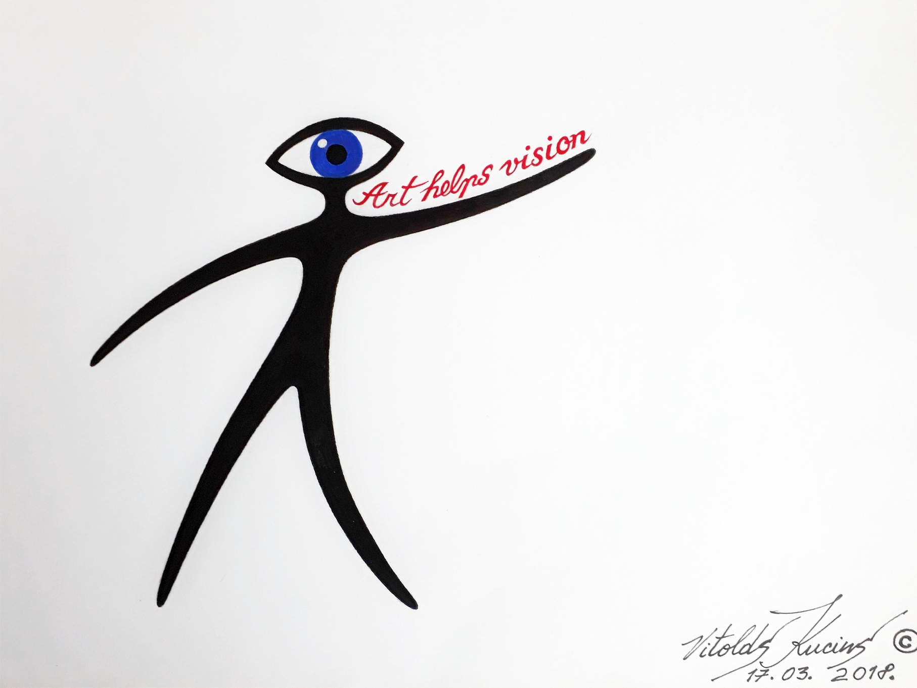 ART HELPS VISION - LOGOTIPS