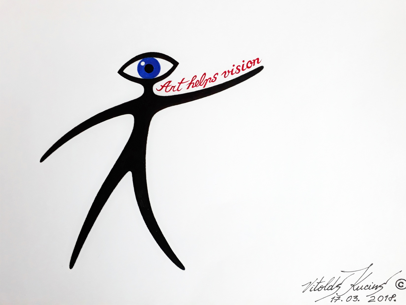 ART HELPS VISION - Logo